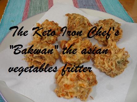 """""""Bakwan"""" the asian vegetables fritter"""