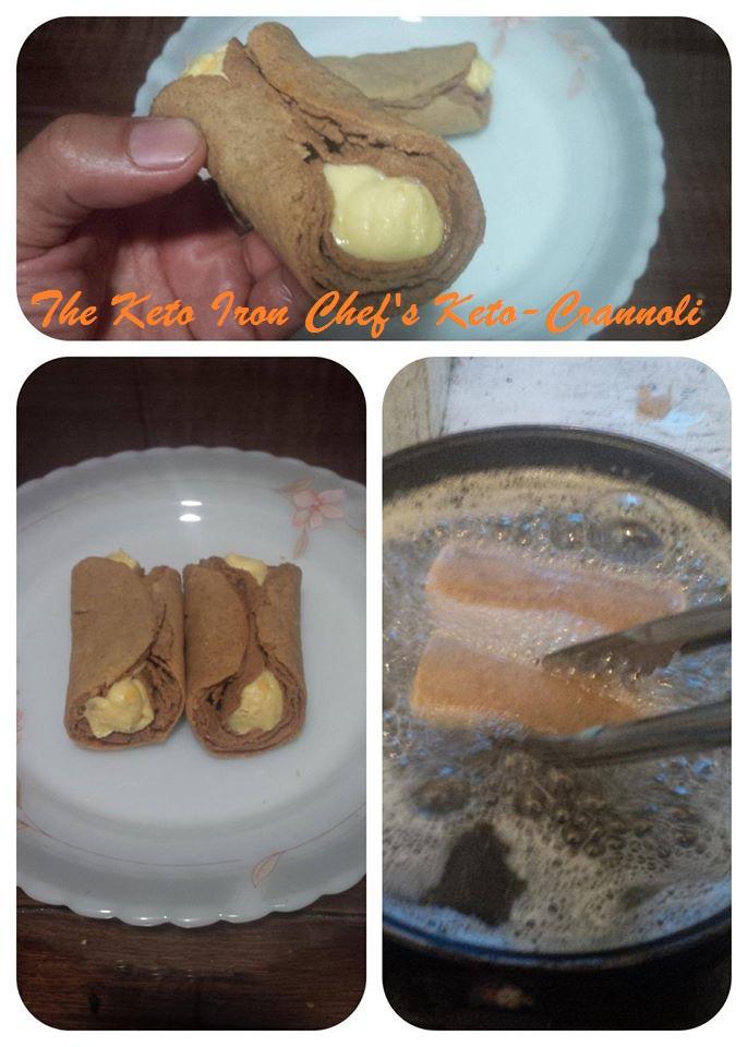 The Keto Iron Chef's Keto-Crannoli