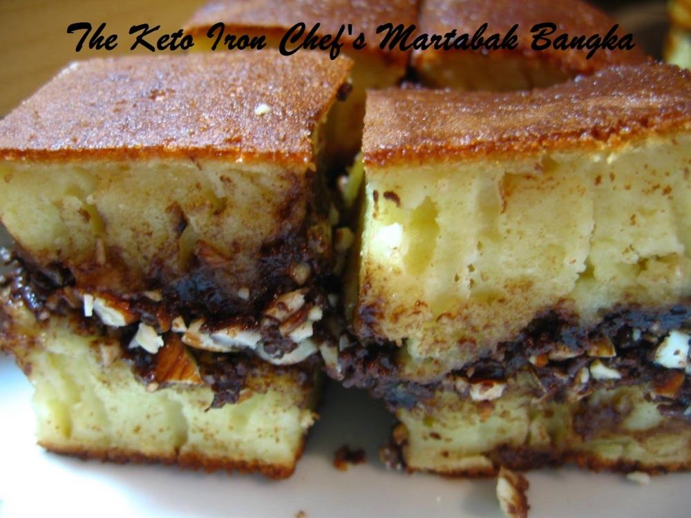 The Keto Iron Chef's Martabak Bangka