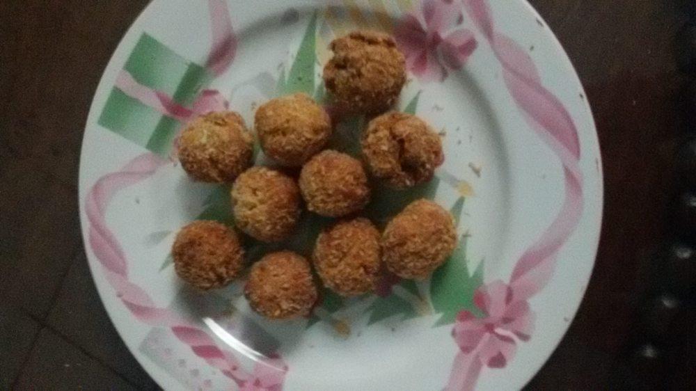 The Keto Iron Chef's Onde-Onde (Asian Fried Dumplings)