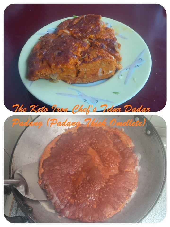 Telur Dadar Padang (Padang Thick Omellete)