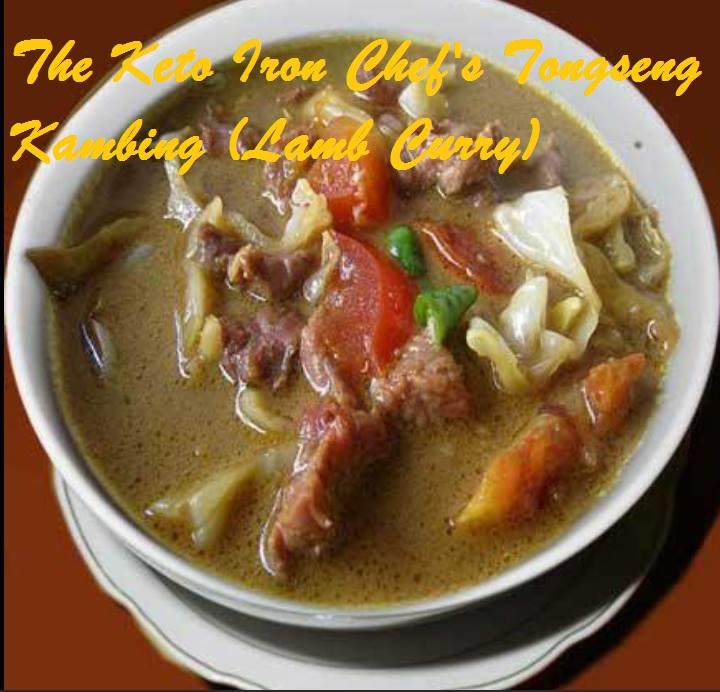 The Keto Iron Chef's Tongseng Kambing (Lamb Curry)