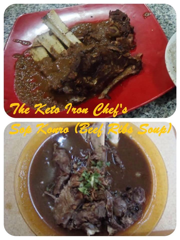 The Keto Iron Chef's Sop Konro (Beef Ribs Soup)