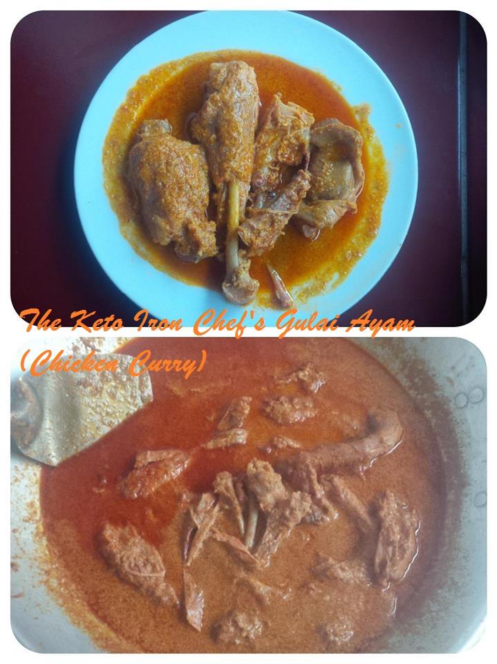 The Keto Iron Chef's Gulai Ayam (Chicken Curry)